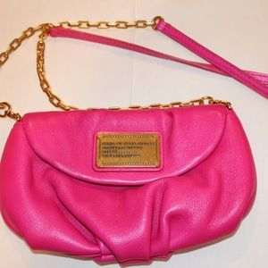 Marc Jacobs Hot Pink Cross Body Purse